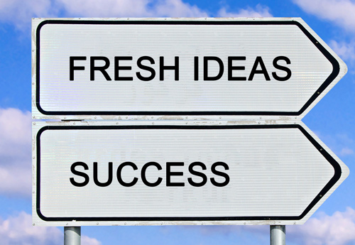 signpost fresh-ideas